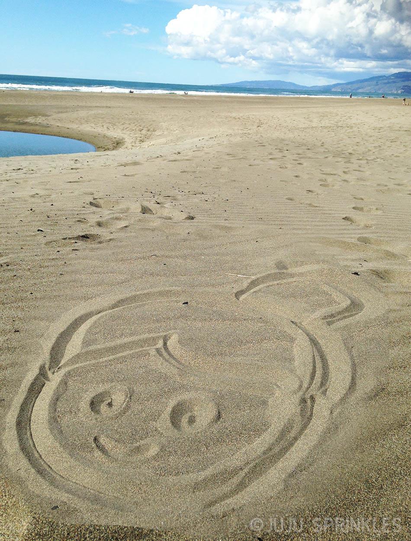 Beach Sand Draw