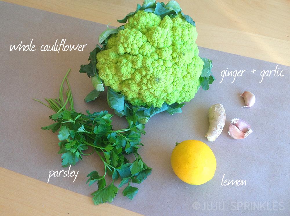 Cauliflower Ingredients