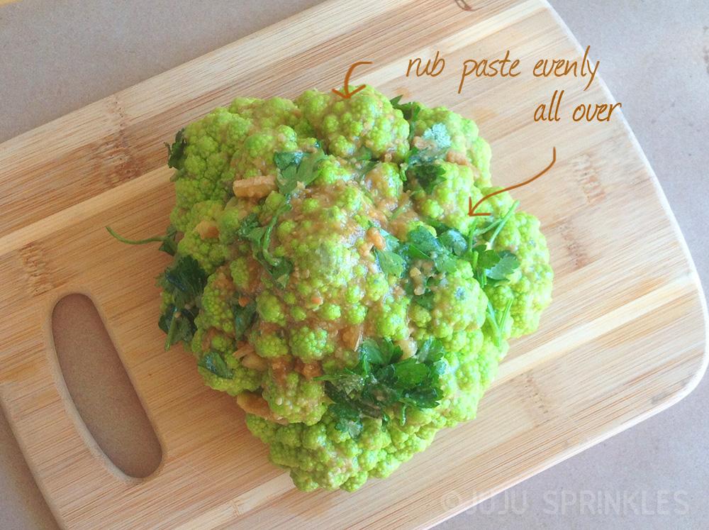 Cauliflower Paste
