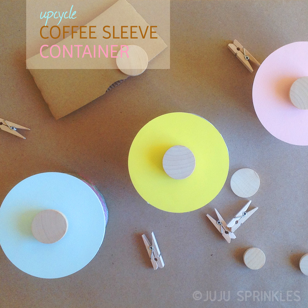 Coffee Sleeve Container Cover 1537