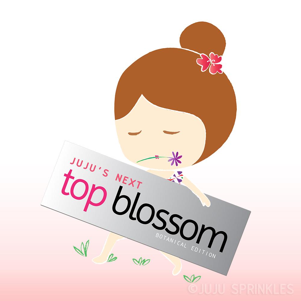Jujus Next Top Blossom Pose