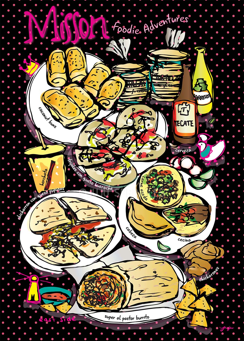 Mission Foodie Adventure Poster