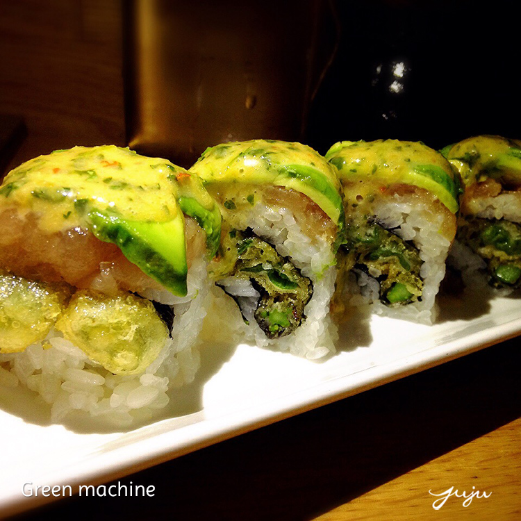 Bamboo Sushi Green Machine750x750