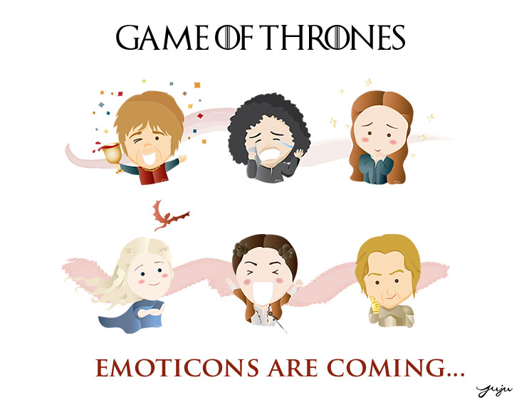 Game Of Thrones Emoticons Are Coming Free Download When You Sign Up