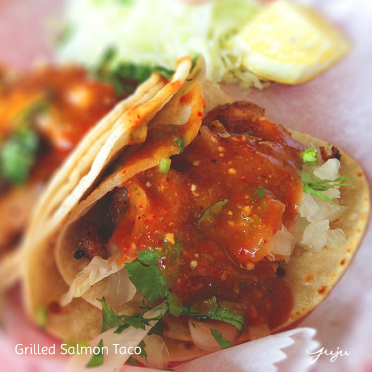 Los Gallitos Salmon Tacos750x750