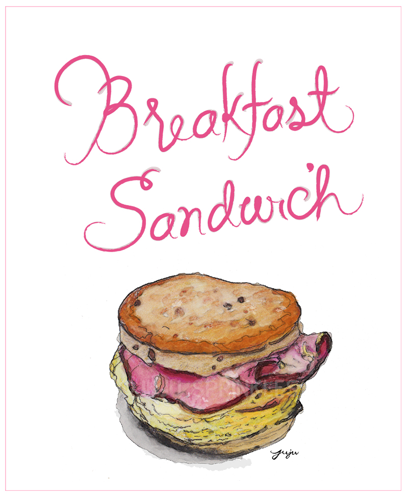 Breakfast Sandwich Juju Sprinkles