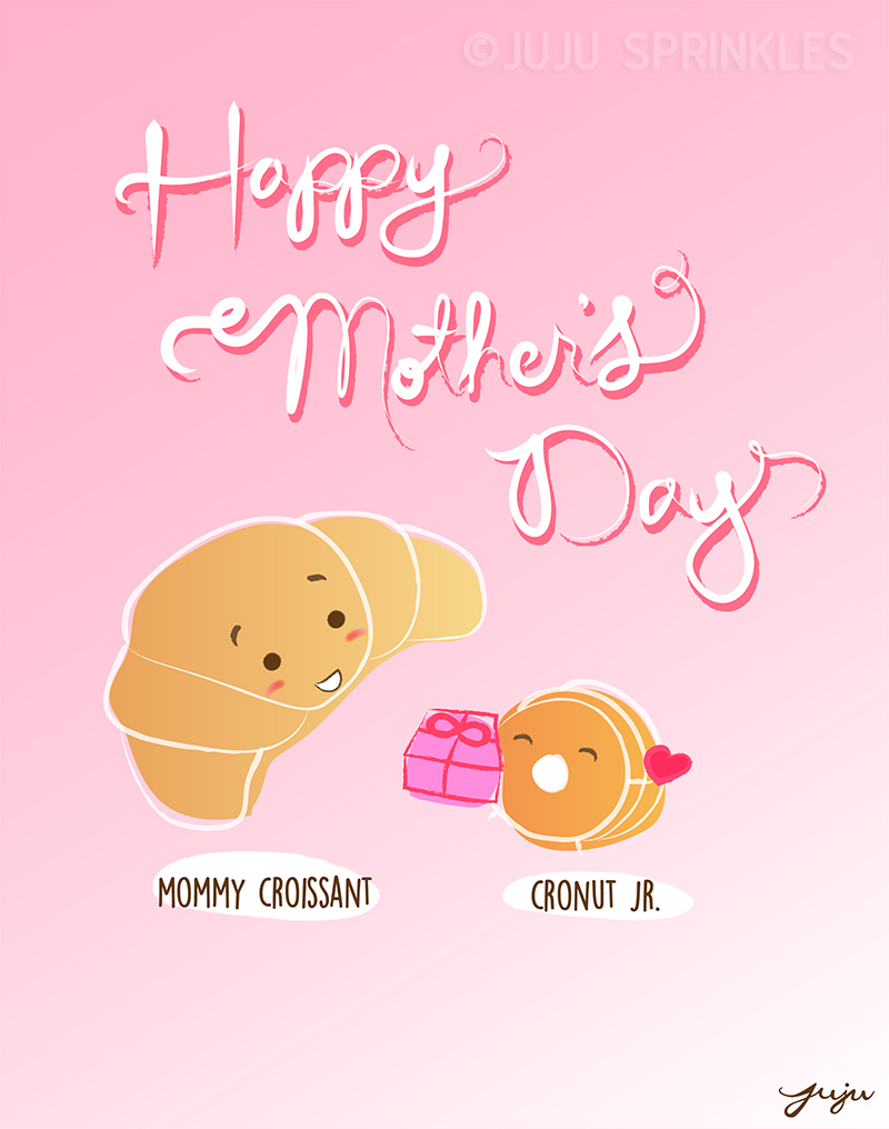 Happy Mothers Day Cronut