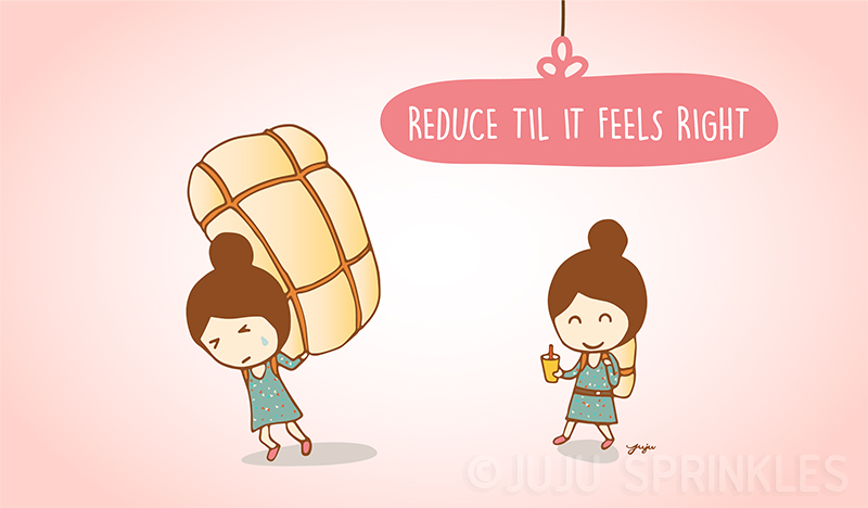 Konmari Reduce Until Right