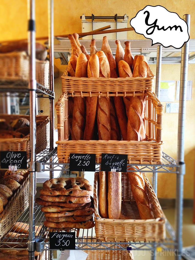 Through Bread Baguettes 8021