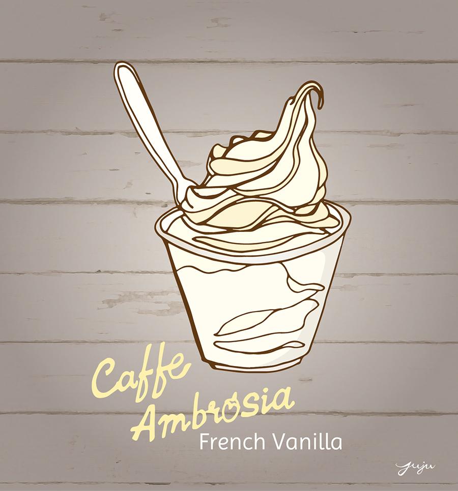 Juju Sprinkles Ice Cream Caffe Ambrosia