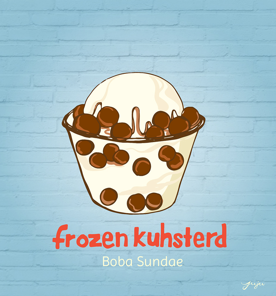 Juju Sprinkles Ice Cream Frozen Kuhsterd (2)