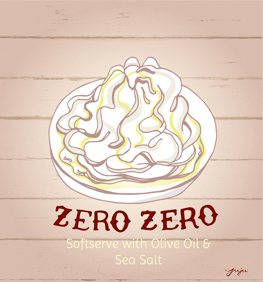 Juju Sprinkles Ice Cream Zero Zero