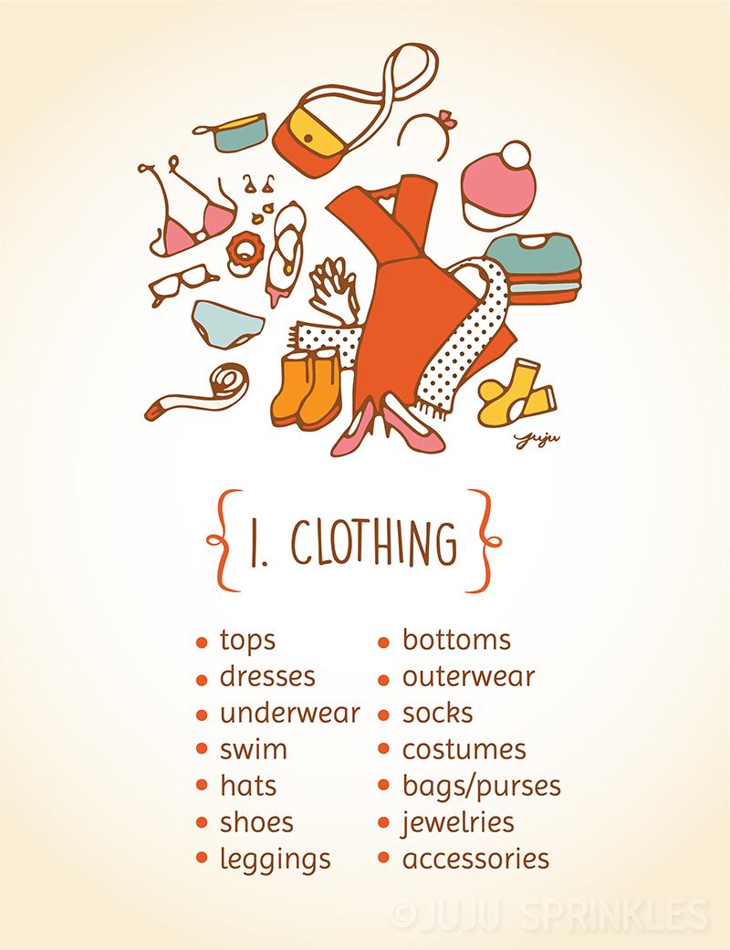 10 Illustrations That Perfectly Sum Up The KonMari Method – Part 2 ...